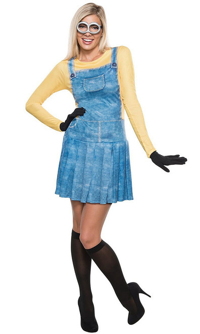 Female Minion Adult Costume