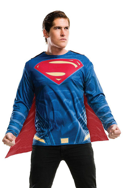 Superman Shirt and Removable Cape