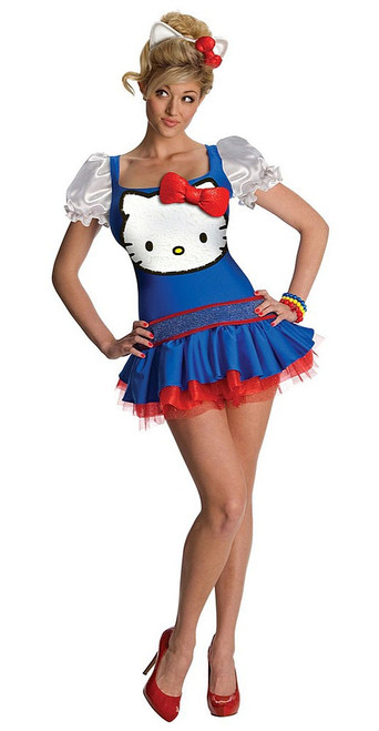 Classic Hello Kitty Blue Dress