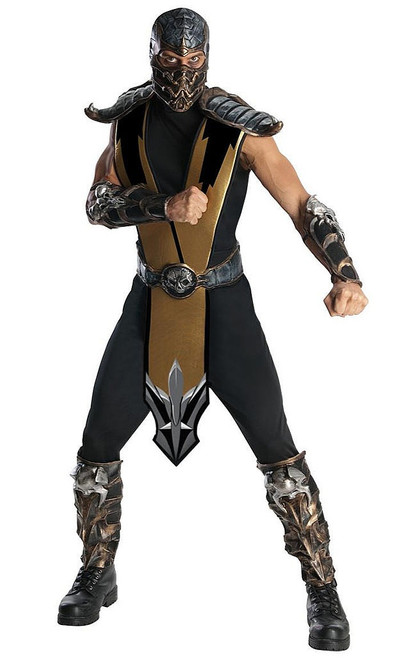 Mortal Kombat Scorpion Adult Costume