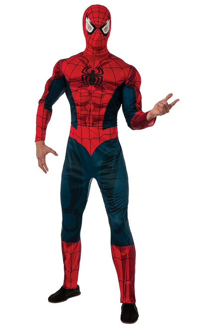 Deluxe Spiderman Costume Adult