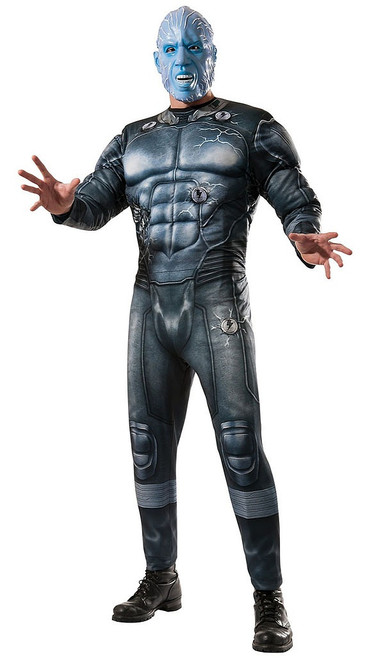 Electro SpiderMan Costume Adult
