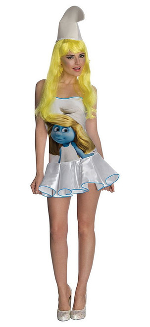 Women Smurf's Dress
