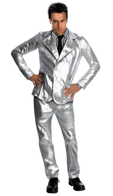 Derek Zoolander Silver Suit Costume