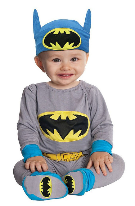 Batman Blue Grey Costume