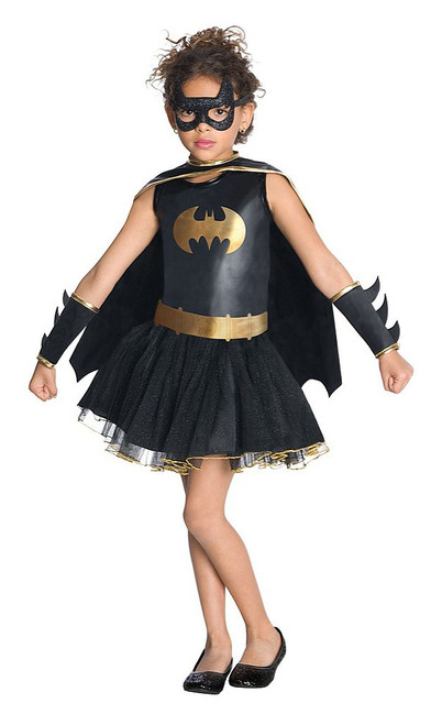Batgirl Tutu Skirt Costume