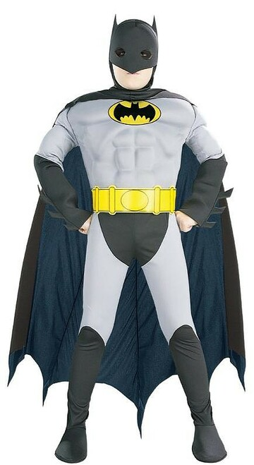 Batman Grey Black Costume