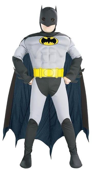 Batman Grey Black Costume