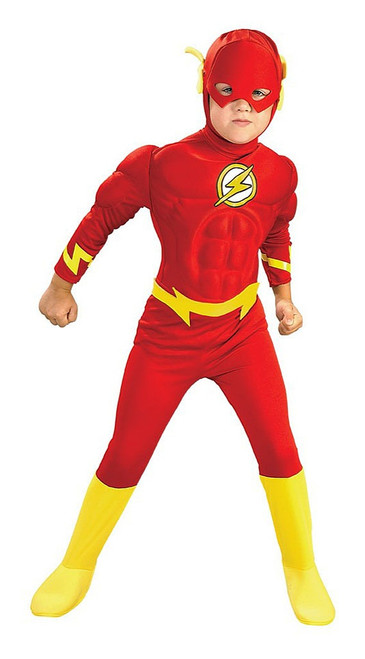 The Flash Boy Costume