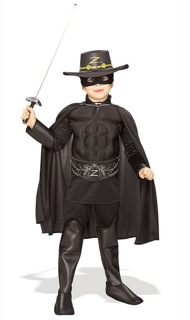 Deluxe Child Zorro Costume