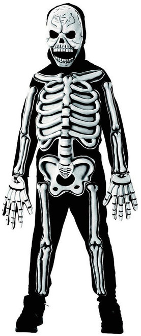 Skeleton Glow-In-The-Dark Boy Costume