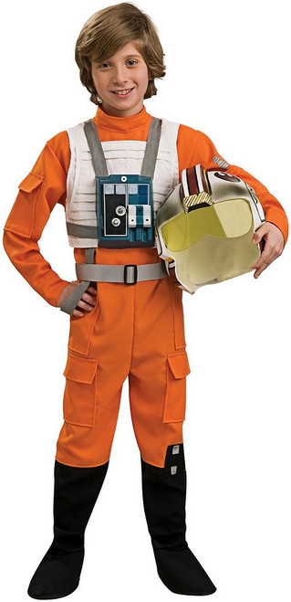 Deluxe X-Wing Pilot Child Costume
