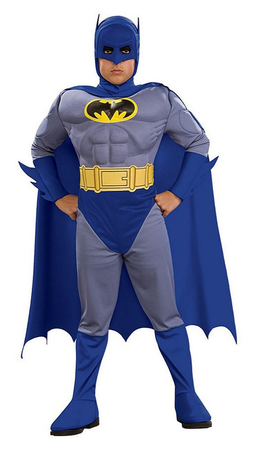 Batman Blue Muscle Chest Deluxe Costume