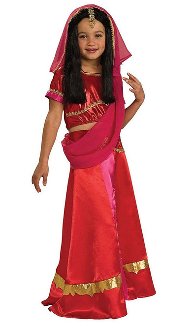 Bollywood Princess Girls Costume