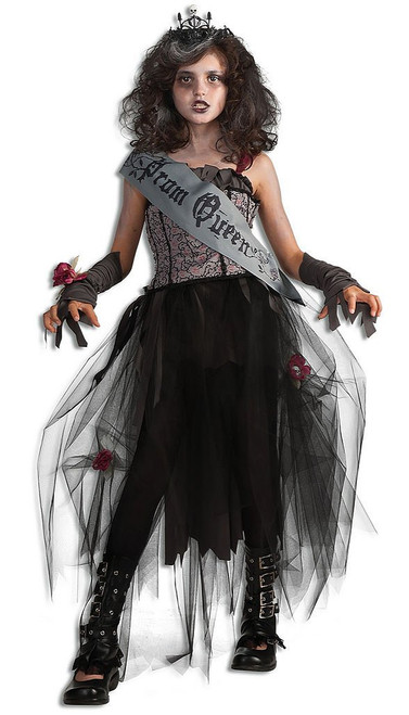 Prom Queen Goth Child Costume