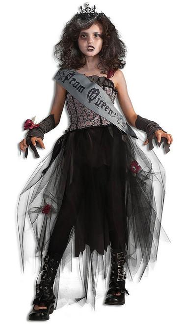 Prom Queen Goth Child Costume