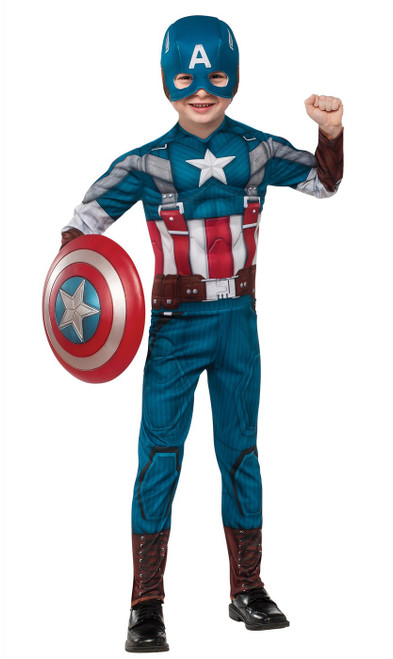 Captain America Deluxe Retro Child Costume