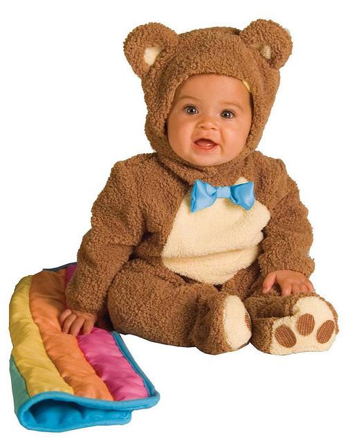 Oatmeal Baby Bear Costume