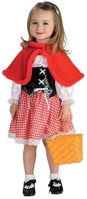 Red Riding Hood Toddler Girl Costume
