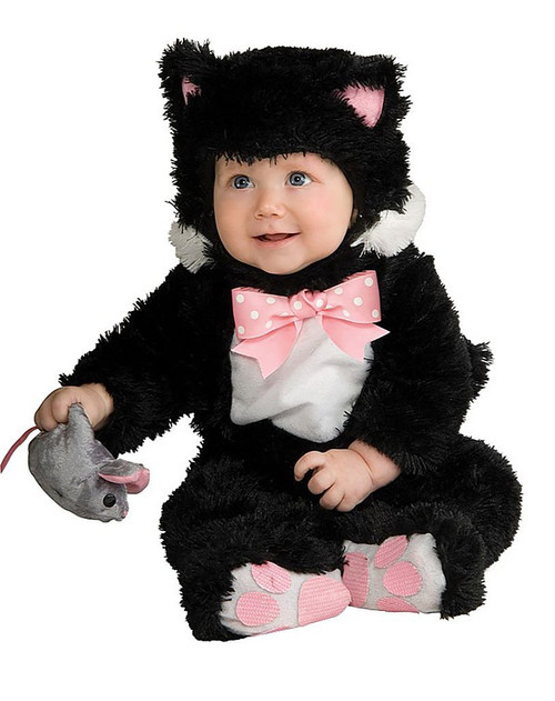 Black Kitty Infants Costume