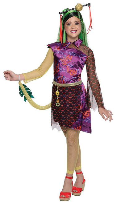 Monster High Jinifire Long Girls Costume