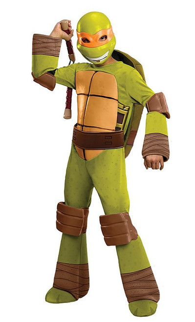 Deluxe TMNT Michaelangelo Child Costume
