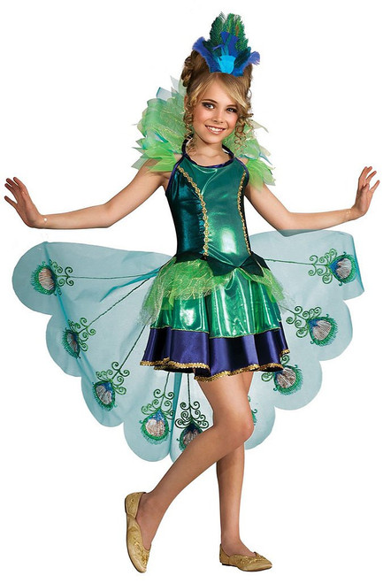 Peacock Child Costume