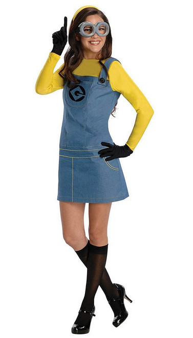 Adult Women Minion Costume
