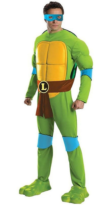 Ninja Turtle Deluxe Leonardo Costume