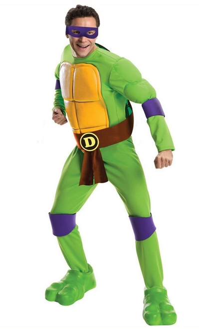 Ninja Turtles Donatello Deluxe Adult Costume