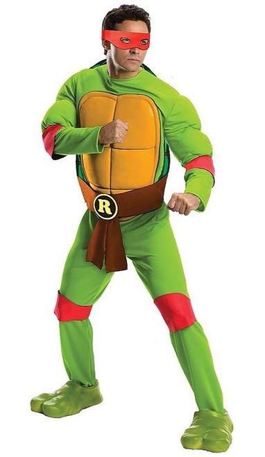 Ninja Turtles Raphael Deluxe Adult Costume