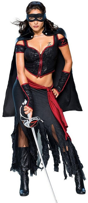 Dignified Lady Zorro Costume