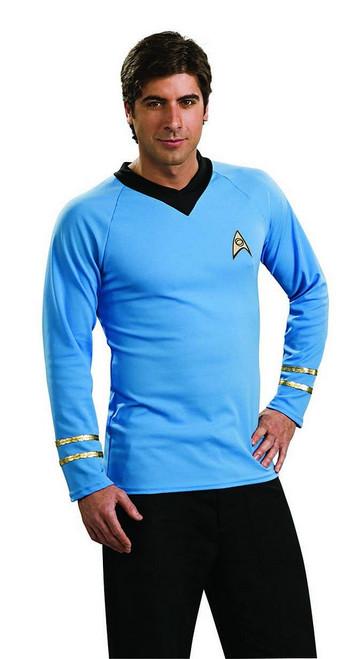 Star Trek Deluxe Blue Shirt Spock
