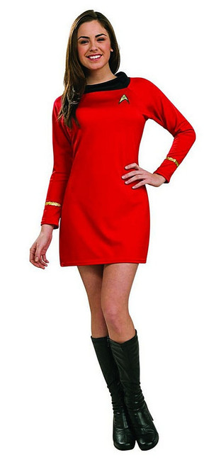 Star Trek Deluxe Red Dress Uhura Costume