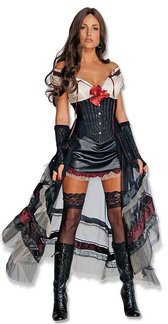 Lilah Jonah Hex Costume Red