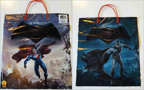 Batman v Superman Treat Bag