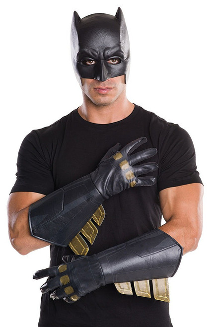 Batman Adult Gauntlets Gold