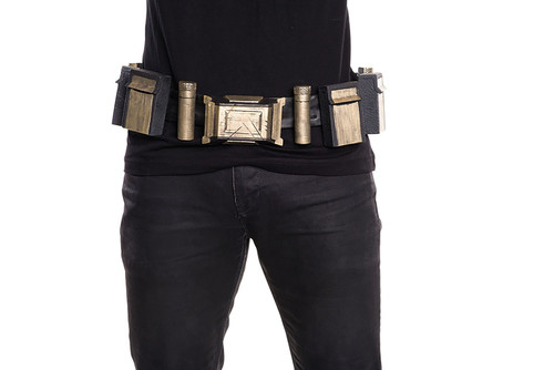 Batman Adult Belt Gold