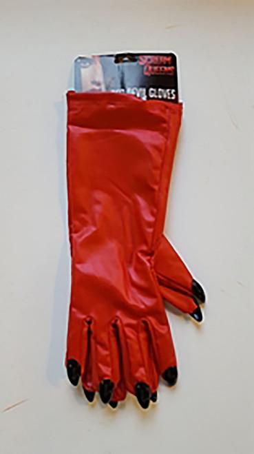 Scream Queens Red Devil Gloves
