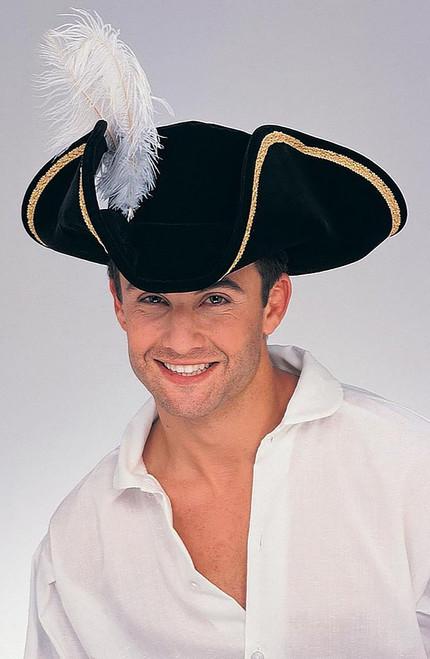 Pirate Buccaneer Hat Tricorn