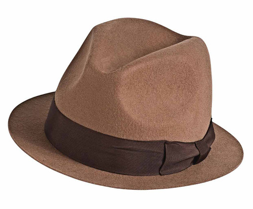 Brown Fedora Hat