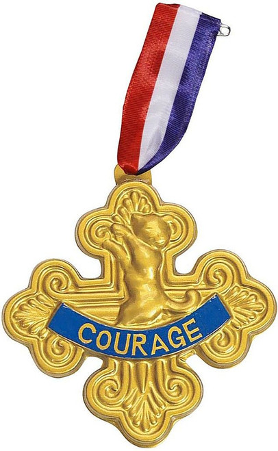 Wizard Oz Lion Courage Badge