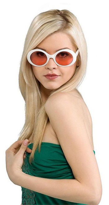 Fabulous Capri's Glasses White