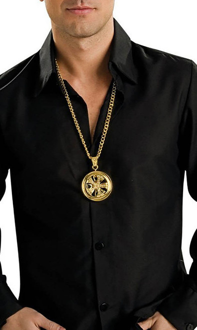 Hustler Pimp Spinner Necklace