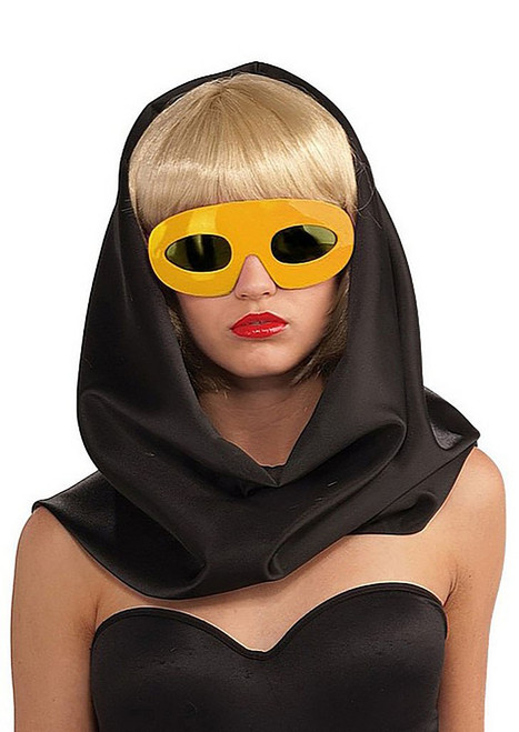 Lady Gaga Glasses - Yellow