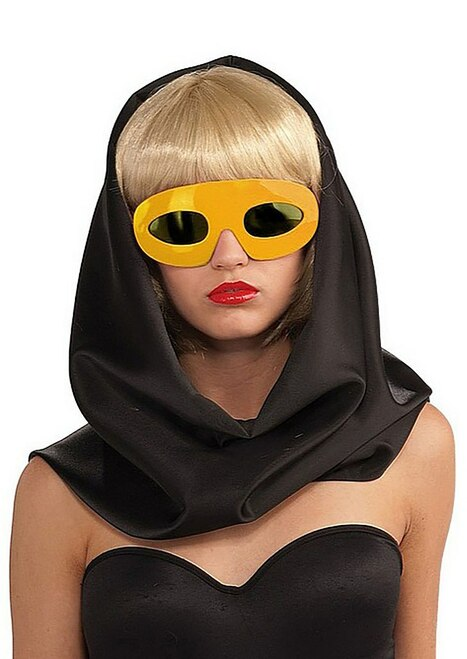 Lady Gaga Glasses - Yellow