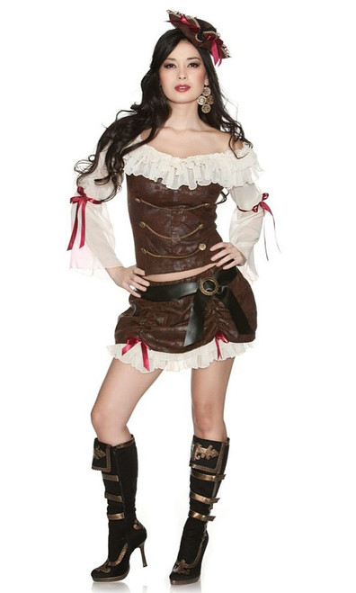 Ahoy, Baby Pirate Costume