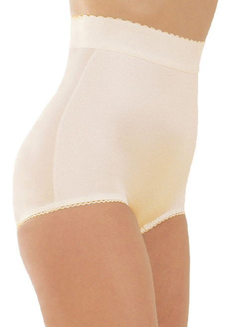 High Waist Panty Brief Beige Regular & Plus Size