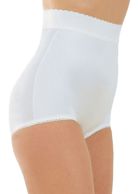 High Waist Panty Brief White Regular & Plus Size