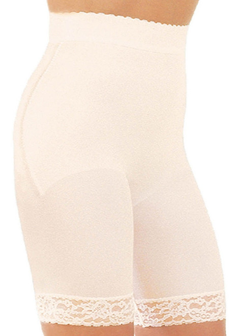 Hi-Waist Bike Shaper Beige Regular & Plus Size
